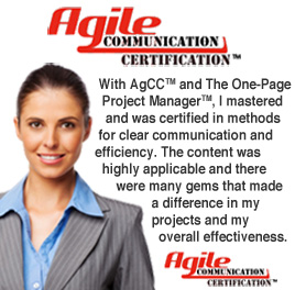 AgCC® - Agile Communications Certification