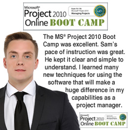 MS Project 2010 Online Boot Camp