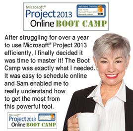 MS Project 2013 Online Boot Camp
