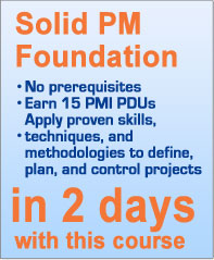 PMRG Offers Exceptional Project Management Courses for PMI PDUs