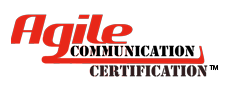 Agile Communication Certification (AgCC)