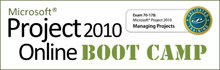 Microsoft Project 2010 Online Boot Camp
