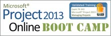 Microsoft Project 2013 Online Boot Camp